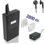 Abhörgeräte-Set-2800, für eine akustische Raumüberwachung.