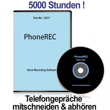 PHONEREC 1.8, PC-basierter Telefonrecorder