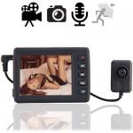 SPY-Knopflochkamera mit Minirecorder: Perfekt für eine mobile und investigative Videoaufzeichnung und Dokumentation mit Video, B