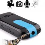 HD-Spionkamera im USB-Stick, verdeckte Videos in HD-Qualität.