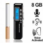 Micro-VOICE-Recorder, 8GB. Digital-Voice-Recorder bis 1200 Stunden Aufnahme möglich.