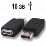 USB-Keylogger, Tastaturspion. Alle Tastatureingaben lassen sich zur Computerünerwachung später rekonstruieren. Unsichtbar für de