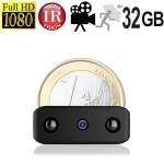 HD Micro-Spionkamera mit DVR, 32 GB