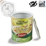 Geheimversteck in Lebensmitteldose. Ideales Versteck für Geld, Schmuck, Schlüssel oder andere Wertgegenstände.