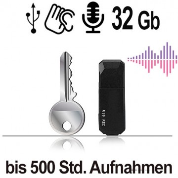 USB-Audiorecorder, 32 Gb