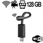 Hochflexible WiFi USB-Überwachungskamera, Motion-Detection.
