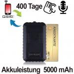 GSM-Fernsteuerbarer Voice-Recorder für Langzeit-Audioüberwachung.