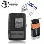 Abhörgeräte-Set-300 Minisender, Audio Abhörset für eine akustische Raumüberwachung.