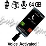 Smartphone Rekorder für Mitschnitt von Handy Telefonaten.