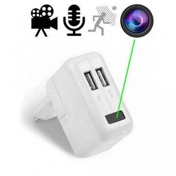HD-Spionkamera im USB-Netzteil