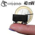Micro-Abhörgerät 40mW.Profi-Minisender mit Höchstleistung für alle Ansprüche.