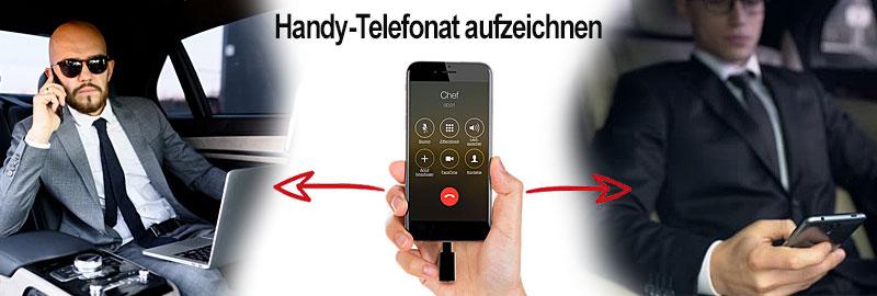Mobiles Aufnahmegerät für Handytelefonate.